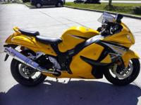 I currently have a 2013 Suzuki Hyabusa 1300 for sale.