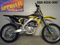 2013 Suzuki RMZ250 Dirt Bike, dealership demonstration