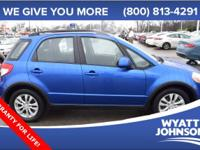This superb 2013 Suzuki SX4 carries a whole mess of
