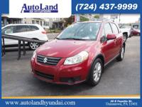 Treat yourself to this 2013 Suzuki SX4 Crossover