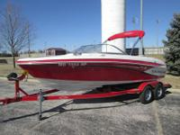 this is a 2013 Tahoe Q7 ski boat that has the 5.0 v8