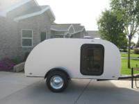 For Sale is a 2013 super custom-made Teardrop Trailer.