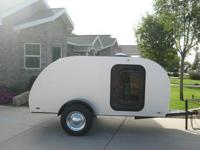For Sale is a 2013 super custom Teardrop Trailer. This
