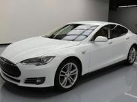 This awesome 2013 Tesla Model S comes loaded with the