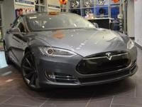 2013 Tesla Model S Performance Gray Metallic over Black