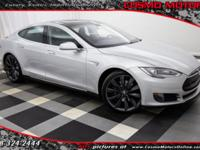 2013 TESLA MODEL S P85 INSANELY FAST P85!! FROM THE