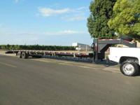 2013 Texas Pride Gooseneck Flatbed Trailer. This tough