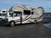 2013 THOR CHATEAU CLASS C, power and door locks, double