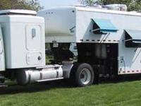 Check out this triple slide, 5th wheel toy hauler with