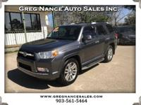 This 4 Runner Drives out Super! CARFAX 2 Owner and has