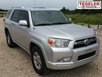 Black 2013 Toyota 4Runner RWD 5-Speed Automatic with