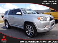 2013 Toyota 4Runner Limited in Classic Silver Metallic,