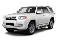 WHITE 2013 Toyota 4Runner Limited 4WD 5-Speed Automatic