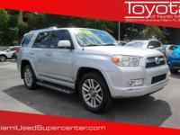 Options:  2013 Toyota 4Runner Limited|Classic Silver