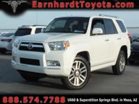 We are pleased to offer you this 2013 Toyota 4Runner