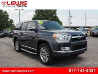 Options:  2013 Toyota 4Runner Limited|Awd Limited 4Dr