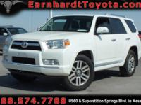 We are happy to offer you this 2013 Toyota 4Runner