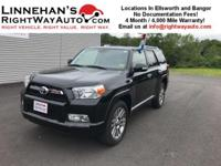 This 2013 Toyota 4 Runner Limited is a Beautiful