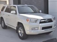 Clean CARFAX. Blizzard Pearl Metallic 2013 Toyota