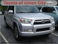 Silver 2013 Toyota 4Runner Limited RWD 5-Speed