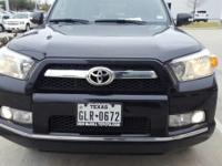 We are excited to offer this 2013 Toyota 4Runner. Your