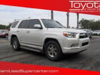 Options:  2013 Toyota 4Runner Sr5|White/|V6 4.0L