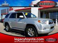 CARFAX One-Owner. Certified. Clean CARFAX. 4Runner SR5,