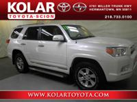 4Runner SR5, 4WD, Blizzard Pearl, ONE Owner Per AUTO