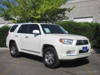 2013 4Runner SR5 4x4 in diamond white pearl with