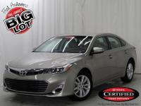 Avalon XLE, Toyota Certified, 6-Speed Automatic ECT-i,