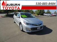 LOW MILES, 1 OWNER, LEATHER!!  This 2013 Toyota Avalon
