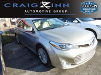 New Arrival! CarFax One Owner! This Toyota Avalon