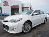 This 2013 Toyota Avalon comes equipped with heated
