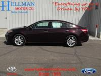 2013 Toyota Avalon Sedan Our Location is: Hellman Motor
