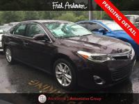 Recent Arrival! CARFAX One-Owner. 2013 Toyota Avalon