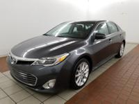 CARFAX One-Owner. Clean CARFAX. Gray 2013 Toyota Avalon