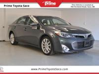 Toyota Certified! Carfax One Owner! 2013 Toyota Avalon