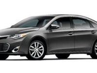 Clean CARFAX. Certified. WHITE 2013 Toyota Avalon XLE