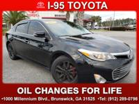 CARFAX One-Owner. 2013 Toyota Avalon XLE Black Clean