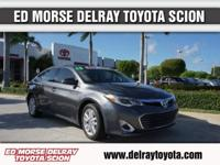 This outstanding example of a 2013 Toyota Avalon XLE