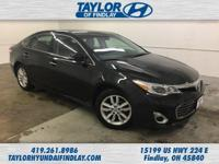2013 Black Toyota Avalon XLE  Priced below KBB Fair