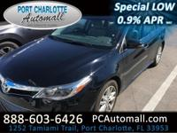 Connect with our 2013 Toyota Avalon XLE presented here