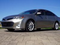 2013 Toyota Avalon Limited in Champagne Mica, This