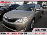 Options:  2013 Toyota Camry Hybrid Xle|Tan|2.5L 4 Cyls