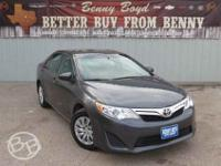 This 2013 Camry is priced in reference to NADA Values