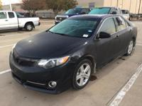 Cosmic Gray Mica 2013 Toyota Camry SE w/Sunroof FWD