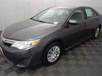 CARFAX One-Owner. Magnetic Gray 2013 Toyota Camry LE