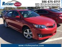 WELL MAINTAINED TOYOTA CAMRY L**LOW MILEAGE**ONE