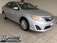Recent Arrival! 2013 Toyota Camry in Silver, LOCAL