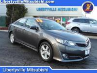 Options:  2013 Toyota Camry Gray Carfax One-Owner.